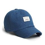 PLATEAU - T BASIC DENIM CAP_BLUE 데님 볼캡