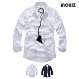 [모니즈] 쟈가드 사각 롤업셔츠 (2color) SHB859