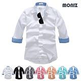 [모니즈] 7부 베이직 스판셔츠 (7color) SHB854