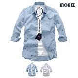 [모니즈] 7부 종이배 린넨셔츠 (2color) SHB835