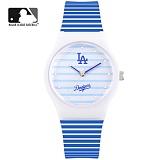 [MLB] LA다저스 패션 젤리시계 MLB325LA-BL 본사정품