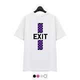 [슈퍼레이티브] superlative - [7SMH28] EXIT 반팔 티셔츠 - 반팔 티셔츠 - 4컬러