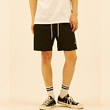 [디플로우]DEFLOW - DEFLOW LOGO SHORT PANTS(BLACK) 반바지 숏팬츠
