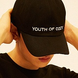 [디플로우]DEFLOW - YOUTH OF COZY CAP(BLACK) 볼캡 모자
