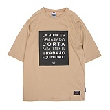 [앱놀머씽] Corta Raglan T-Shirts (Beige) 반팔티셔츠