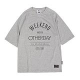 [앱놀머씽] Otherday Raglan T-Shirts (Gray) 반팔티셔츠