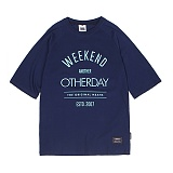 [앱놀머씽] Otherday Raglan T-Shirts (Navy) 반팔티셔츠