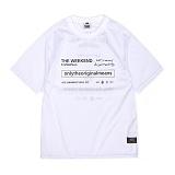 [앱놀머씽] Weekend Mash T-Shirts (White) 반팔티셔츠