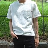 [모니즈] 10수 포켓 반팔 티셔츠 (9color) TSB072