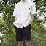 [모니즈] 선인장 반팔 셔츠 (4color) SHT579