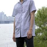 [모니즈] 레인 반팔 셔츠 (1color) SHT576