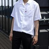 [모니즈] 무지 반팔 셔츠 (6color) SHT572