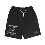 [앱놀머씽] The Weekend Comfy Shorts (Black) 반바지