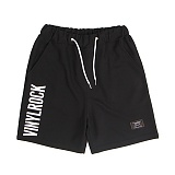 [앱놀머씽] Vinylrock Comfy Shorts (Black) 반바지