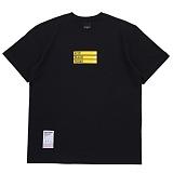 [에시드블랙] ACIDBLACK - THAT NIGHT TEE (BLACK) 반팔 반팔티 티셔츠