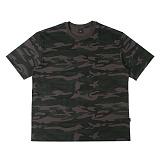 [아이넨]EINEN-Peerless Fake Camouflage 1/2 T-Shirts 반팔티