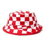 [오리지날척]ORIGINAL CHUCK Chex Hat Red 버킷햇
