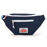 [핍스] PEEPS vivid waist bag(navy)_웨이스트백_메신저백_힙색