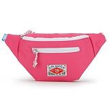 [핍스] PEEPS vivid waist bag(pink)_웨이스트백_메신저백_힙색