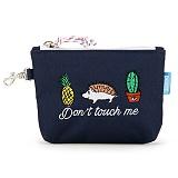 [핍스] PEEPS dont touch mini pouch(navy)