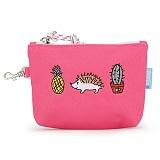 [핍스] PEEPS dont touch mini pouch(pink)