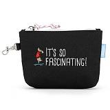 [핍스] PEEPS board pup mini pouch(black)