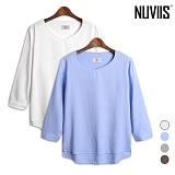 뉴비스 - 모던컬러 트임 7부 셔츠 (TC005SH)