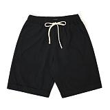 [어메이드] amade Lamis 1/2 Linen Pants Black