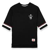 [핍스] PEEPS dont touch 3/4 short sleeved TEE(black)_핍스 반팔티