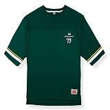 [핍스] PEEPS dont touch 3/4 short sleeved TEE(green)_핍스 반팔티