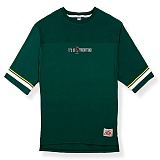 [핍스] PEEPS board pup 3/4 short sleeved TEE(green)_핍스 반팔티