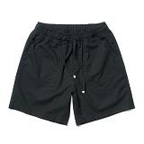 파르티멘토 - Linen Half Pants Black 반바지