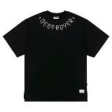 STIGMA - DESTROYER OVERSIZED T-SHIRTS BLACK 반팔티셔츠