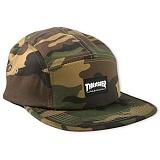 [트래셔] THRASHER THRASHER 5 PANEL CAP (CAMO) 캠프캡
