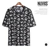 뉴비스 - 해골 쿨냉 티셔츠 (NU138TS)