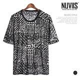 뉴비스 - 믹스패턴 쿨냉 티셔츠 (NU137TS)