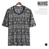 뉴비스 - 인디언 쿨냉 티셔츠 (NU136TS)
