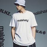[마라하지]MALAHAZY LOGO-Tee-WHITE 반팔티