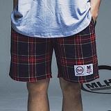 [마라하지]MALAHAZY Banding-Shorts-CHECK 밴딩 숏팬츠 반바지