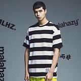 [마라하지]MALAHAZY MLHZ-stripe-T-shirt 스트라이프 반팔티