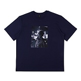 [아이넨]EINEN-Peerless Urban Secret 1/2 T-Shirts Navy 반팔티