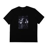[아이넨]EINEN-Peerless Urban Secret 1/2 T-Shirts Black 반팔티