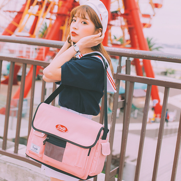 [데이라이프]DAYLIFE 포스트 크로스백 (핑크)