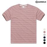 [앨빈클로] AST-3981DP 레옹 스트라이프 반팔 티셔츠