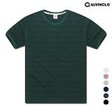 [앨빈클로] AST-3981DG 레옹 스트라이프 반팔 티셔츠