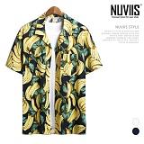 뉴비스 - 바나나 하와이안 반팔셔츠 (RW114SH)