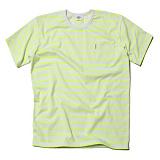 [세인트페인]SAINTPAIN - SP 17S STRIPE TEE SS TYPE A-NEON 반팔티 티셔츠