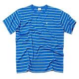 [세인트페인]SAINTPAIN - SP 17S STRIPE TEE SS TYPE B-BLUE 반팔티 티셔츠