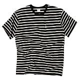 [세인트페인]SAINTPAIN - SP 17S STRIPE TEE SS TYPE F-BLACk 반팔티 티셔츠