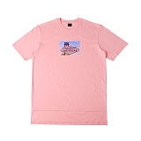 [아이넨]EINEN-Peerless Wellas 1/2 T-Shirts Pink 반팔티